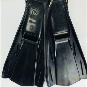 Venturi Power Nemrod Swim Scuba Fins Size 4-10